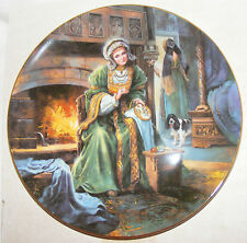 BNIB ROYAL DOULTON COLLECTORS GALLERY ANNE OF CLEVES PLATE PN117 WIFE HENRY VIII