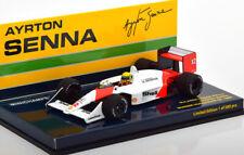1:43 Minichamps McLaren Honda MP4/4 Winner GP Hungary Senna 1988