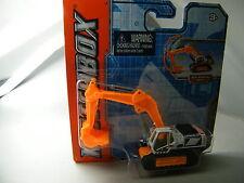 Matchbox Real Working Rig RW028/2: EXCAVATOR V1700 weiß orange OVP
