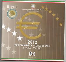 KMS, Eurokursmünzensatz 2012 aus Italien mit 5,88 Euro, original, stempelglanz
