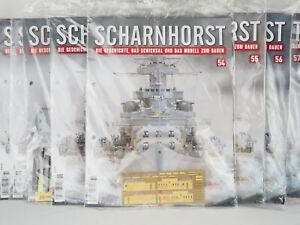 Schlachtschiff Scharnhorst von Hachette diverse Augaben von 5 bis 98 zur Auswahl