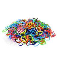 300 Colourful Loom Bands S Clips & Hook Friendship Loom Kit Set