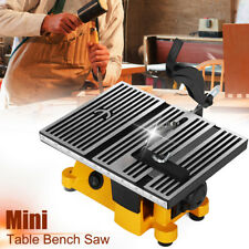 10cm Portable Electric Mini Table Bench Saw Wood Metal Glass Cutting Tool New!
