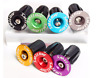 1 Pairs Aluminum alloy Bike Grips Bar End Caps Plug For MTB Road Bicycle Handle