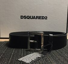 Cintura Dsquared ORIGINALE Donna Tg 40 Lady D2 Belt Black Dsquared2