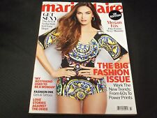 2013 MARCH MARIE CLAIRE UK EDITION MAGAZINE - MEGAN FOX COVER - O 6054