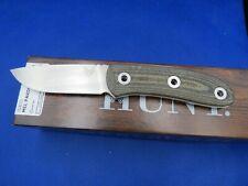 "Benchmade Pardue Hunter Fixed Blade Knife OD Green Micarta (3.5"" Satin) 15400 MA"