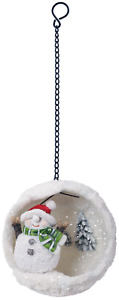 Vivid Arts - Playful Mini Hanging Snowball - Snowman - Indoor/Outdoor Decoration