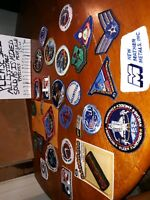 Vintage Patch lot of mixed patches craft or collection NASA and more