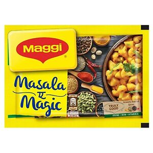 MAGGI Vegetable Masala Magic 6gm All in One Masala for Dry Vegetables Free Ship