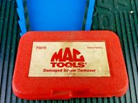 #ag446  Mac Tools Damaged Screw Remover Set P2019