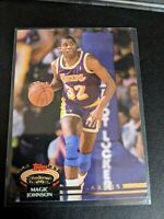 Earving Magic Johnson Topps Stadium Club 1992 Card #32 Los Angeles Lakers NBA