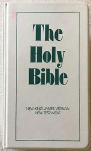 The Holy Bible King James Version New Testament On 12 Audio Cassette Tapes KJV