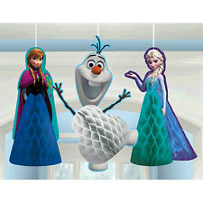 Disney Frozen Honeycomb Balls Hanging Decoration Birthday Party Supply Anna Elsa