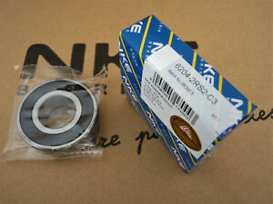 Rillenkugellager / Deep Groove Ball Bearings  6204-2RS2-C3 NKE [20x47x14]