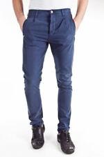 Pantaloni Daniele Alessandrini Jeans Trouser Cotone Uomo Blu PD4955L7203231 23