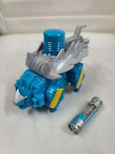 Power Rangers Dino Charge ANKYLO Zord Blue Ankylosaurus and Battery by Bandai
