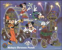 Grenadines of Grenada 1988 Disney/Christmas/Mickey/Train/Cartoons  1v m/s b6724h