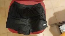 Vintage 80's Asics Tiger Nylon Black Athletic Wear Shorts Size XL NOS Rare
