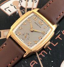 Vintage 1935 Mans Hamilton SCOTT Wristwatch Fully Serviced W/ 1 YEAR WARRANTY