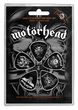 Motörhead Plektrum Set Bad Magic 5 Plectrum Set Guitar Picks Motorhead