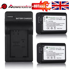 2X 7.4V 1500mAh Replace NP-FW50 Battery + Charger For Sony A6300 A6000 A5000 UK