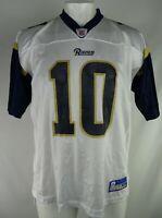 Los Angeles Rams NFL Reebok Men's #10 Marc Bulger Jersey