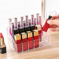 24 Lipstick Storage Cosmetic Organizer Display Stand Holder Rack Makeup AU