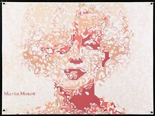 MARILYN MONROE Polish B1 movie poster 27x39 1986 MUSEUM EXHIBITION SUPERB RARE