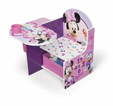 Disney Desk Chair Minnie Mouse Kids Table Toddler Play xmas gift school fun new