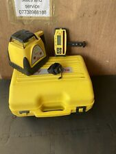 Leica Rugby 100 Laser level c/w receiver, charger and carry case