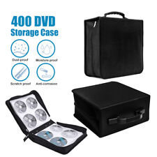 2X 400 Disc CD DVD Bluray Storage Holder Solution Binder Book Carrying Case