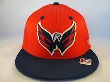 14554d9af20 Washington Capitals NHL Size S M Flex Cap Hat CCM Red Navy