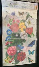 Tatouage Dry rub Flower and Insect Wall Transfers - Carolyn Yovan - Nip