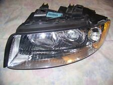 2002-2005 AUDI A4/S4 Left Halogen Headlamp Assy OEM USED 8E0-941-029 F