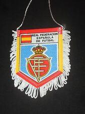 fanion wimpel pennant ancien REAL FEDERACION ESPANOLA DE FUTBAL SPAIN ESPANA