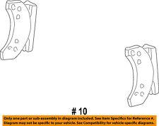 FORD OEM 99-04 F-350 Super Duty Brake-Front Pads YU2Z2V001BA