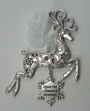 Bbr Share the season's blessings Regal Reindeer Christmas Ornament ganz