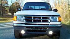 1993-1997 Ford Ranger Splash Blue Halo Angel Eye Fog Lamp Driving Light Kit