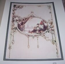 1911 PORTION OF DECORATIVE PANEL by George Sheringham Color Print