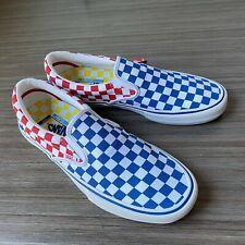 Vans Classic SlipOn Pro Ultracush Skate Shoes Men's Size 10 Primary Checkers