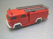 Wiking Magirus Deutz Fire Truck with two ladders made in Germany HO Mint Cond.