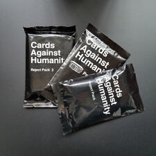 """3Pcs """"Reject Pack 1 And 2 """"Cards Against Booster Expansion Pack"""
