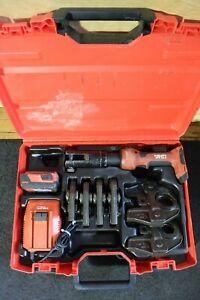 Hilti NPR 32-A Press Crimper with 6 Jaws for Copper #2         RP 340 330 ridgid