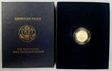 2008 W Burnished 1/10 Oz, $5 Gold Eagle! ONLY 12,657 MINTED! NO RESERVE!