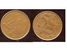 BRESIL  5 centavos  2008  ( bis )
