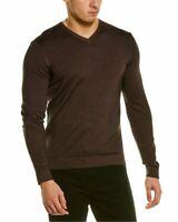 Raffi Merino Wool V-Neck Sweater Men's