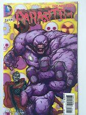 Superman 23.4 3D Parasite Lenticular Cover.