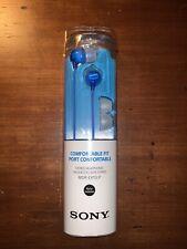 Sony MDR-EX15LP - In-Ear Earphones Blue Brand New Sealed