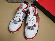 "NIKE Air Jordan 4 Retro ""Fire Red"" #305497-110 Size 13 BRAND NEW Jordan IV"